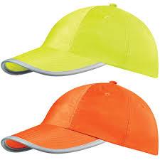 High visibility baseball caps Image