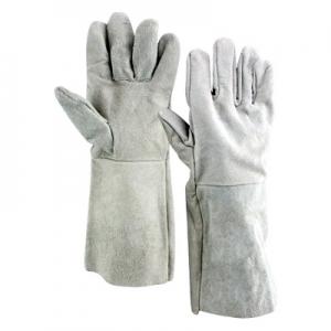 chrome leather gloves Image