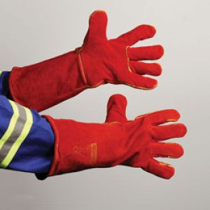 heat resistant gloves elbow length Image