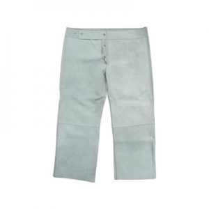Chrome leather welding trouser Image