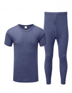 thermal long jonh pants & vest Image